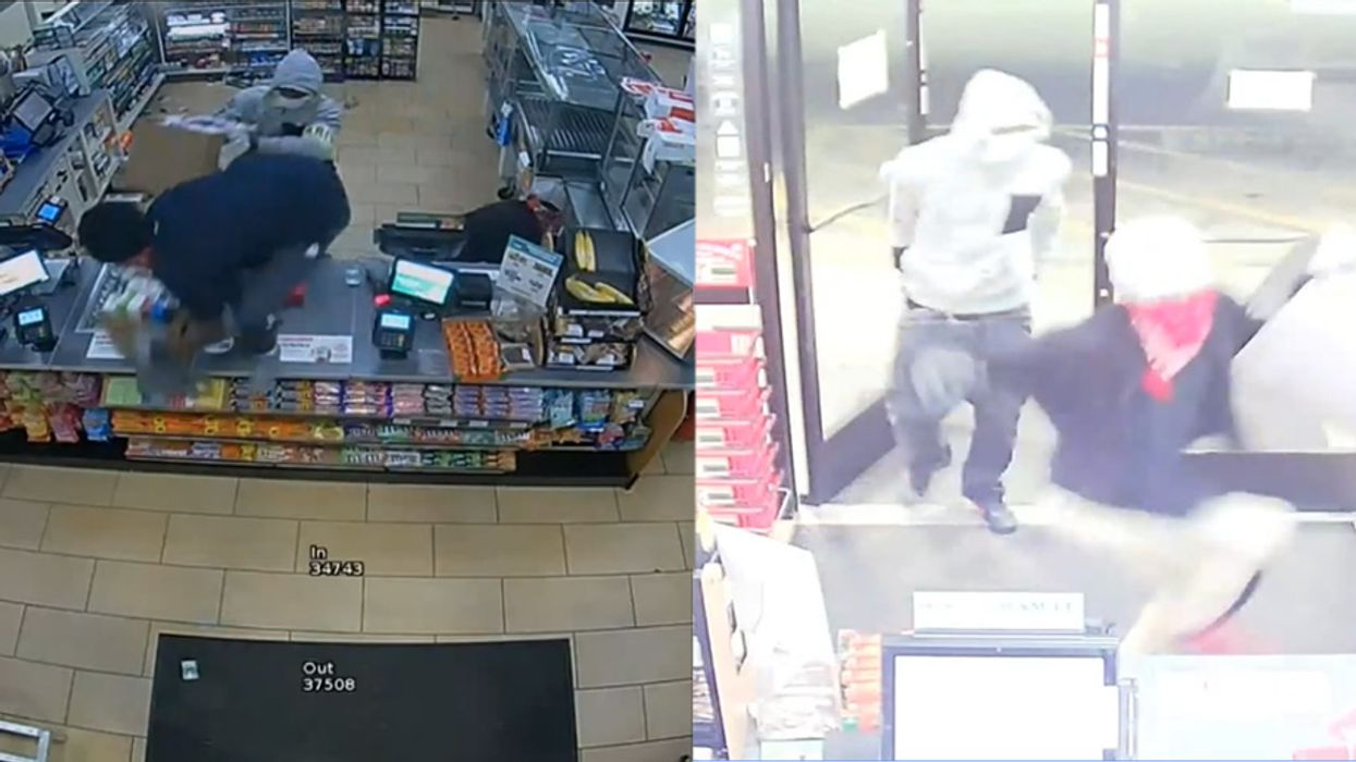 Three Masked Men Robbed A Florida 7-Eleven And Got Caught On Video
