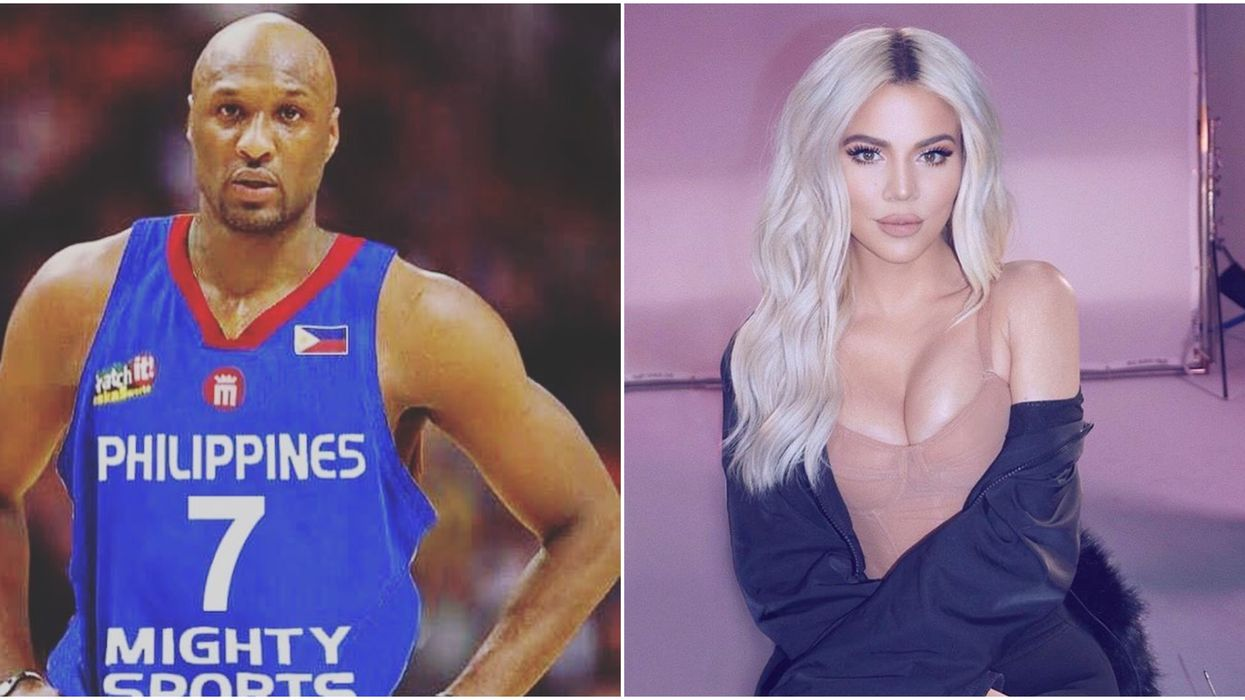 Fans Are Suggesting Khloe Kardashian Shouted Out Ex-Husband Lamar Odom In Her Latest Instagram Post