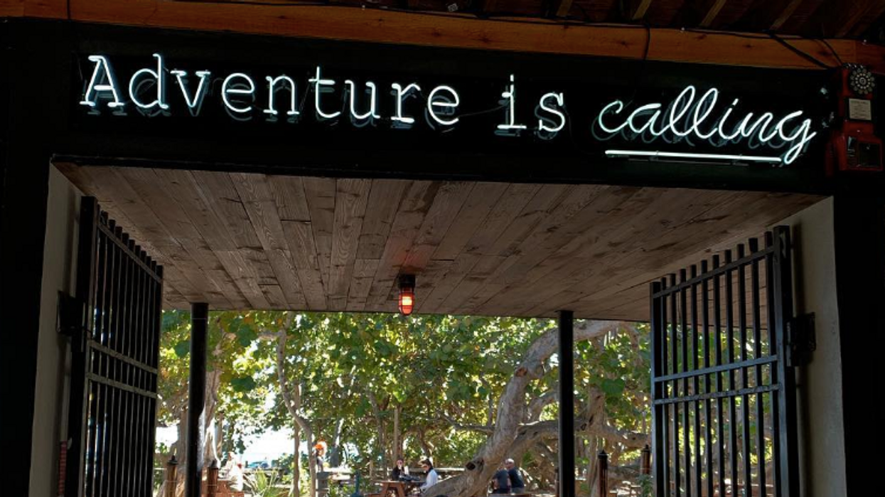 You Won't Believe There's A Restaurant Behind The Woods At This Fort Lauderdale Beach