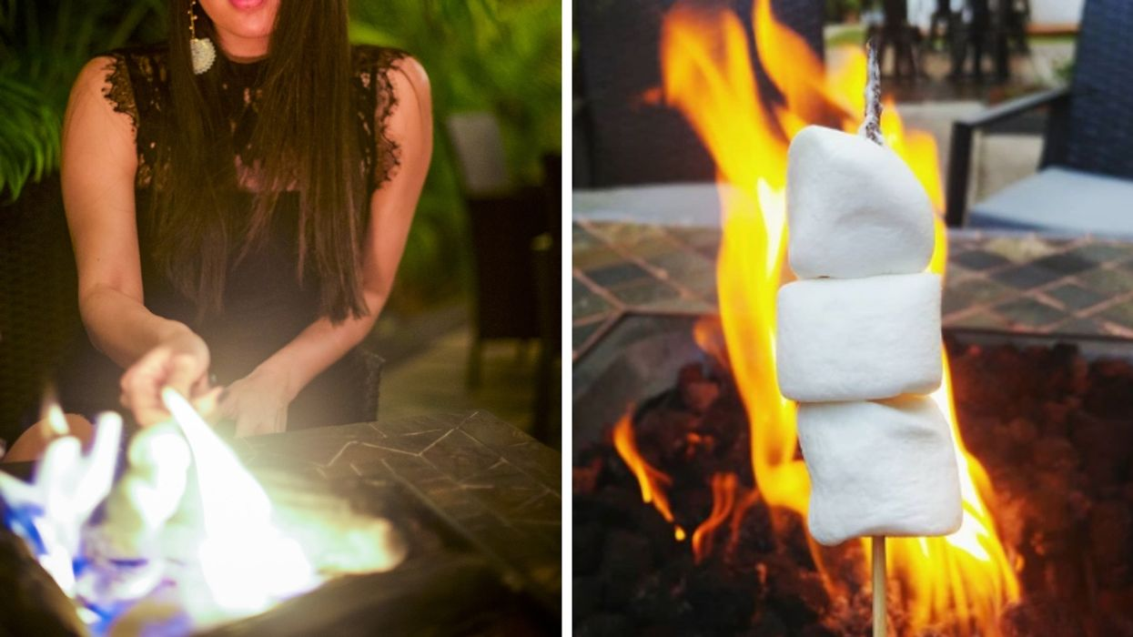 This Secret Restaurant In Miami Has The Perfect Fire Pits For DIY S'mores
