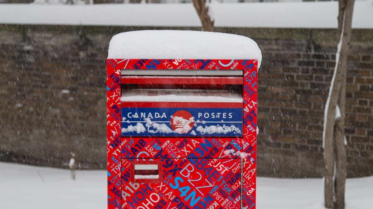 Canada Post Confirms That Some Vancouver Residents Will Not Receive Deliveries Today Due To Snowstorm
