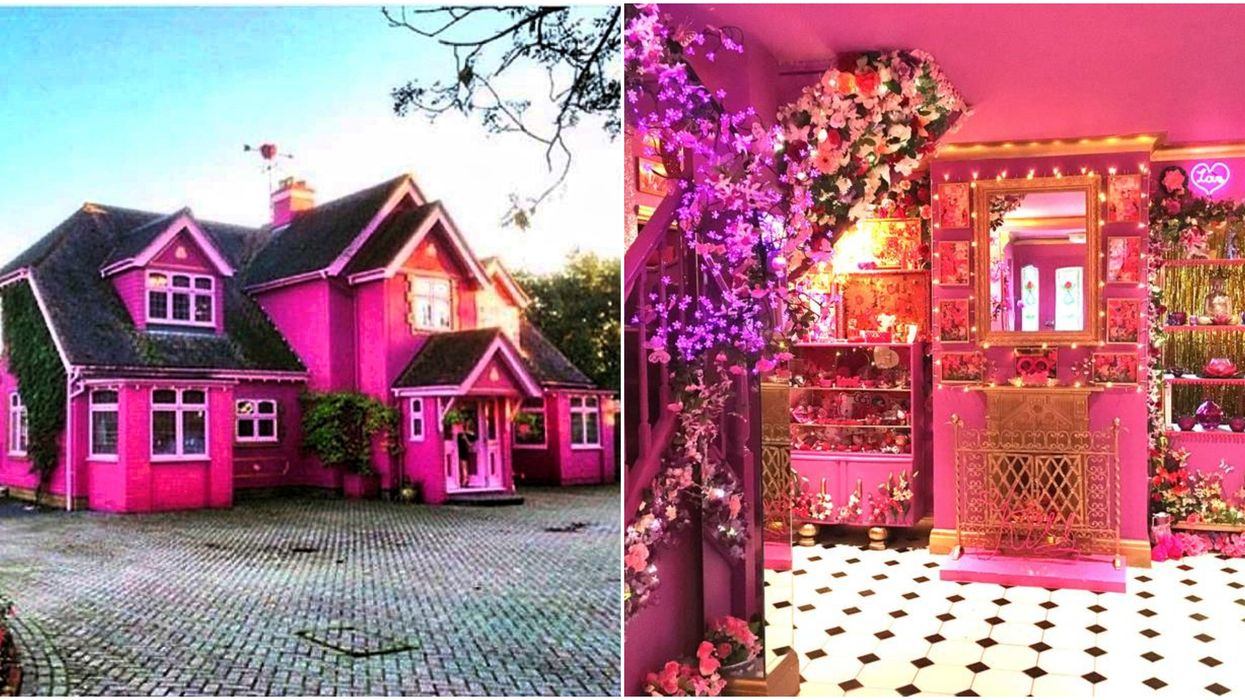 An Entirely Pink House Exists And You Can Actually Stay There