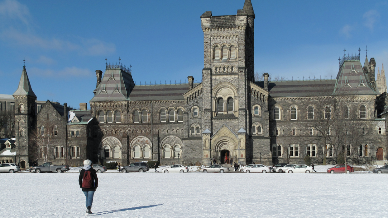 U Of T Students Feared For Their Safety This Morning When The School Remained Open During The Storm