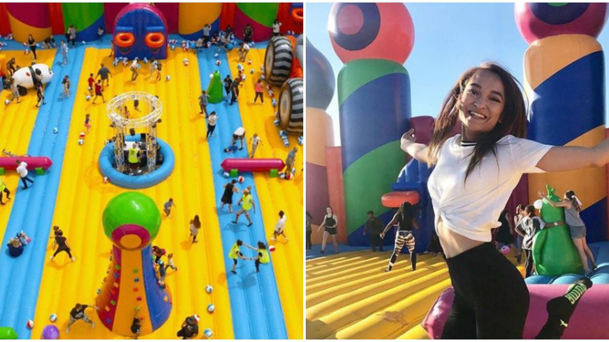 The World's Biggest Adult-Friendly Inflatable Amusement Park Is Coming To Miami Next Month