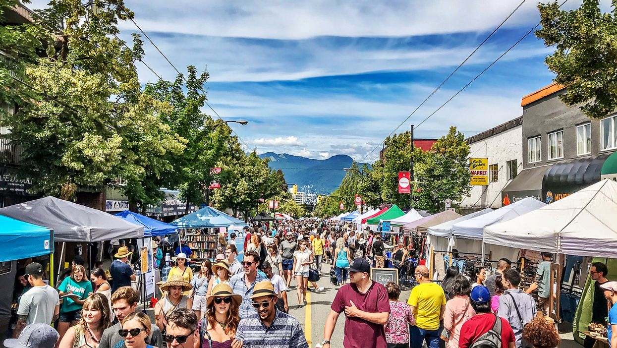 This Massive Weekend-Long Street Festival Is Taking Over Vancouver This Spring