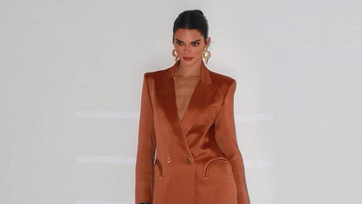 Kendall Jenner Showed Up To An Oscars Party Without Pants And Fans Are Actually Loving It