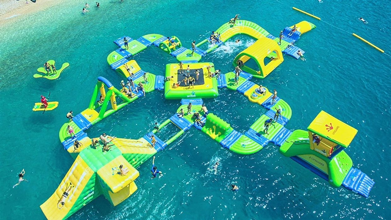 Ontario's First-Ever Floating Waterpark Is Officially Reopening For June 2019