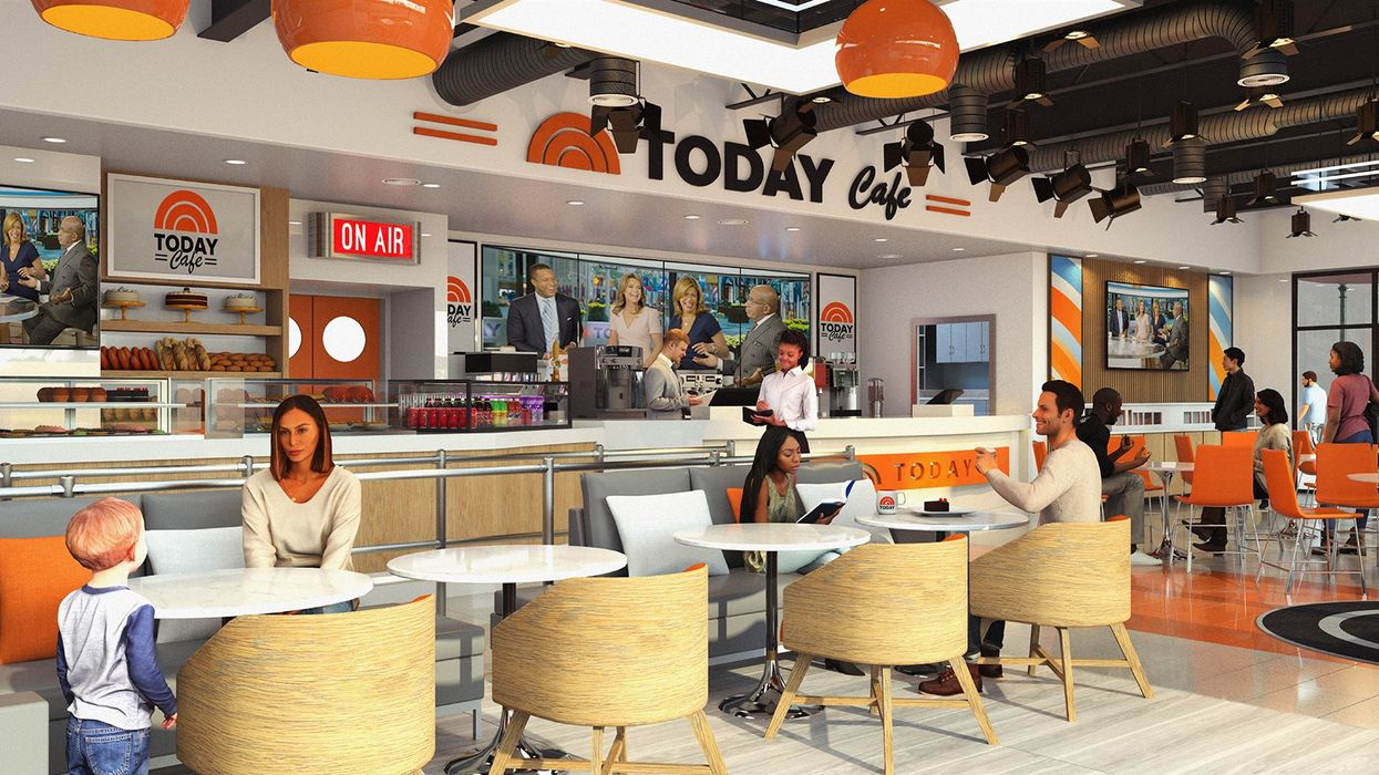 Universal Orlando Is About To Get The Ultimate TODAY-Themed Cafe