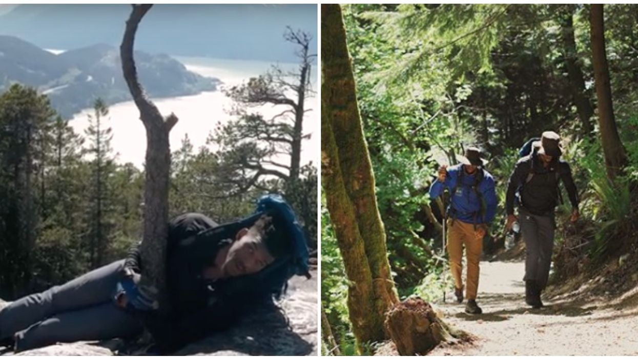 NBA Player Jimmy Butler Was Caught Struggling On This Hike In Canada And The Video Is Perfection