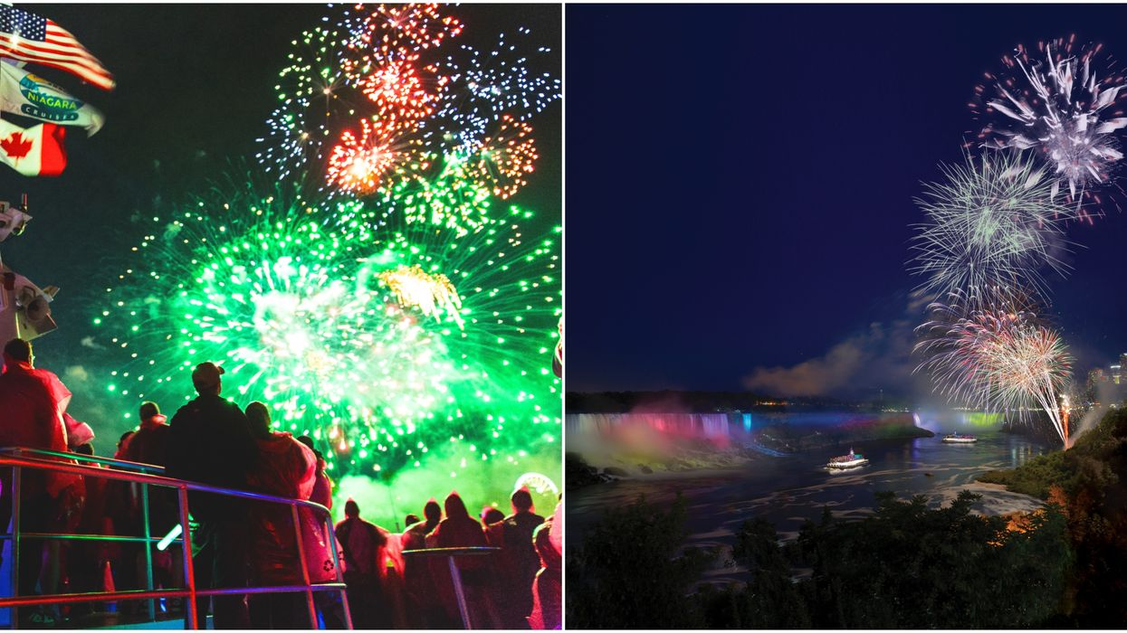 You Can Go On A Magical Fireworks Cruise At Niagara Falls This Spring