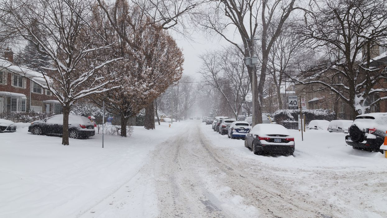 City Of Toronto Says It Will Take 16 Hours After Snowfall To Plow Local Roads