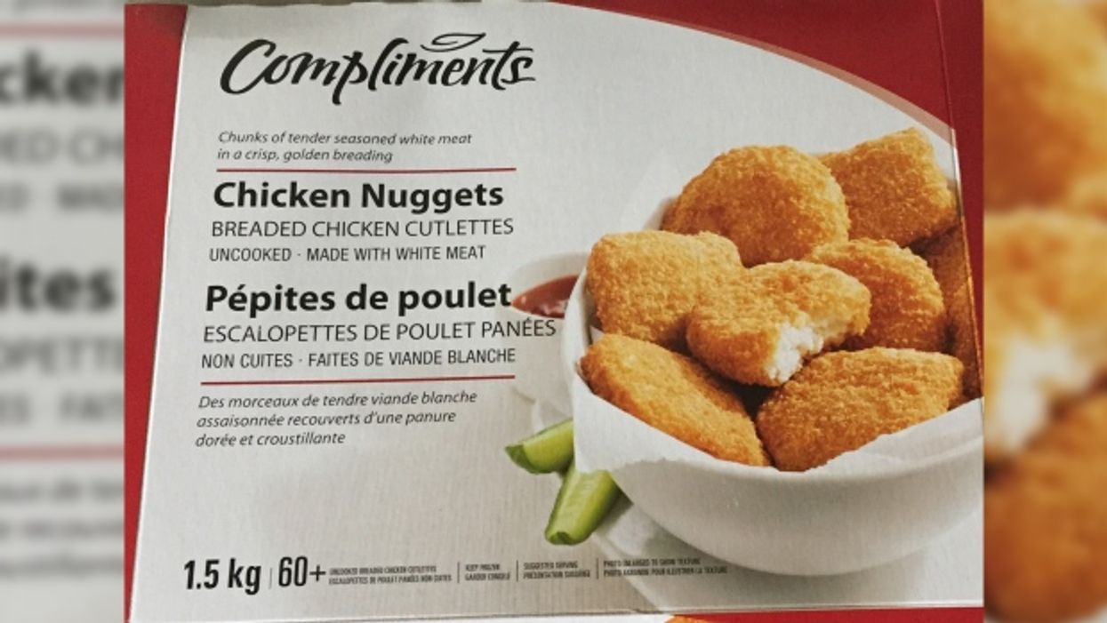 Compliments Chicken Nuggets Recalled Across Canada Due To Salmonella Contamination