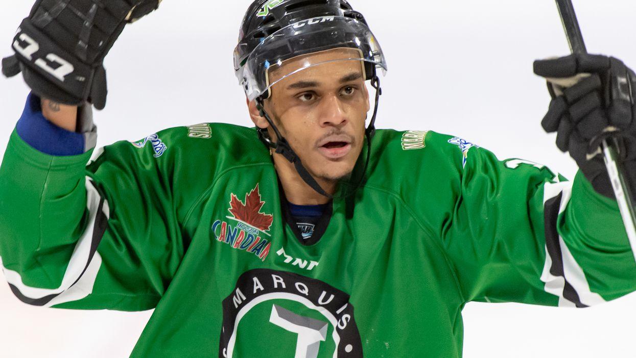 Ce joueur de hockey a été victime de violents commentaires racistes et les Québécois réclament plus que des excuses