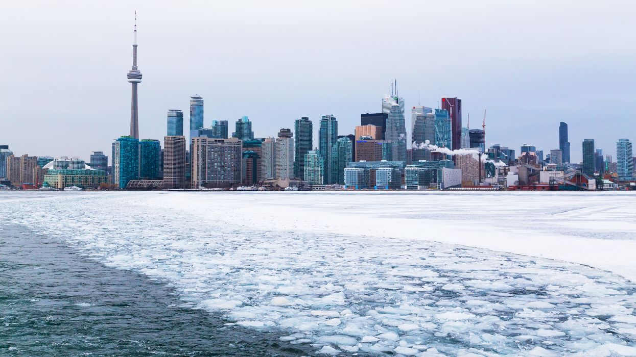 Locals Are Calling Toronto Man Jumping On Ice Chunks Reckless And Dangerous