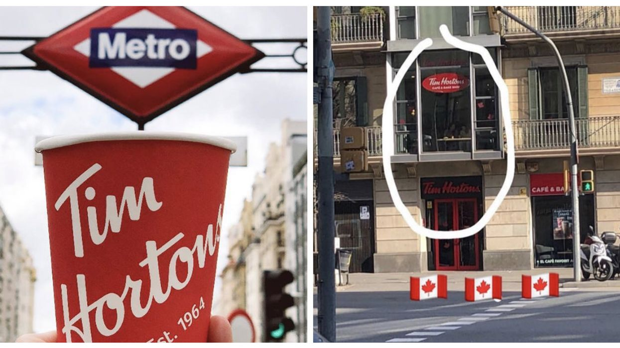 There's An Adorable Multi-Level Tim Hortons In Barcelona And Locals Absolutely Love It