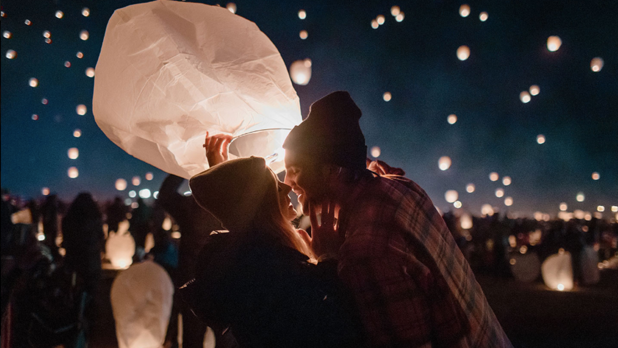 A Magical Floating Lantern Festival Is Coming To Texas This March