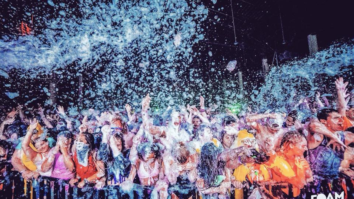 The Ultimate Foam Party Is Finally Coming To Dallas Next Month