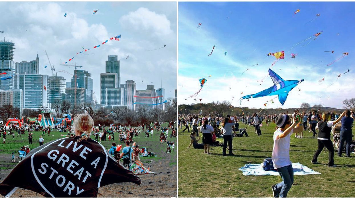 Austin's Kite Festival Returns For Its 90th Year And It Will Be Better Than Ever Before