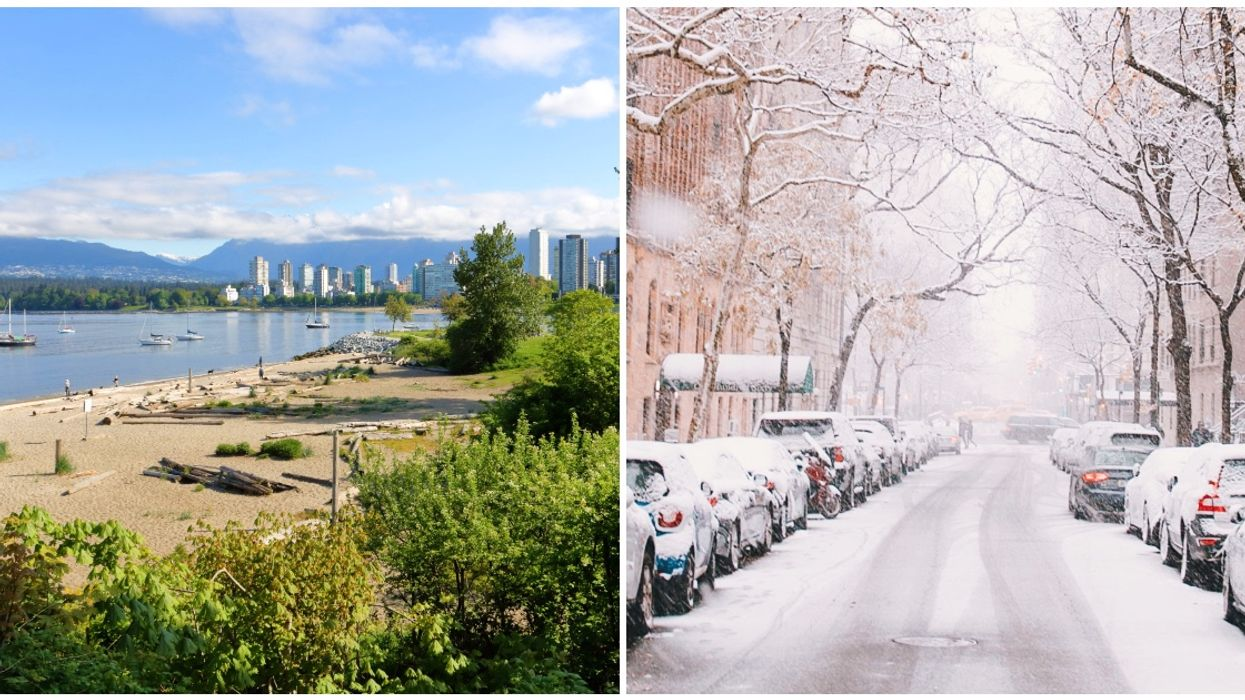 Vancouver Is Expected To See Some Seriously Bizarre Weather This Week