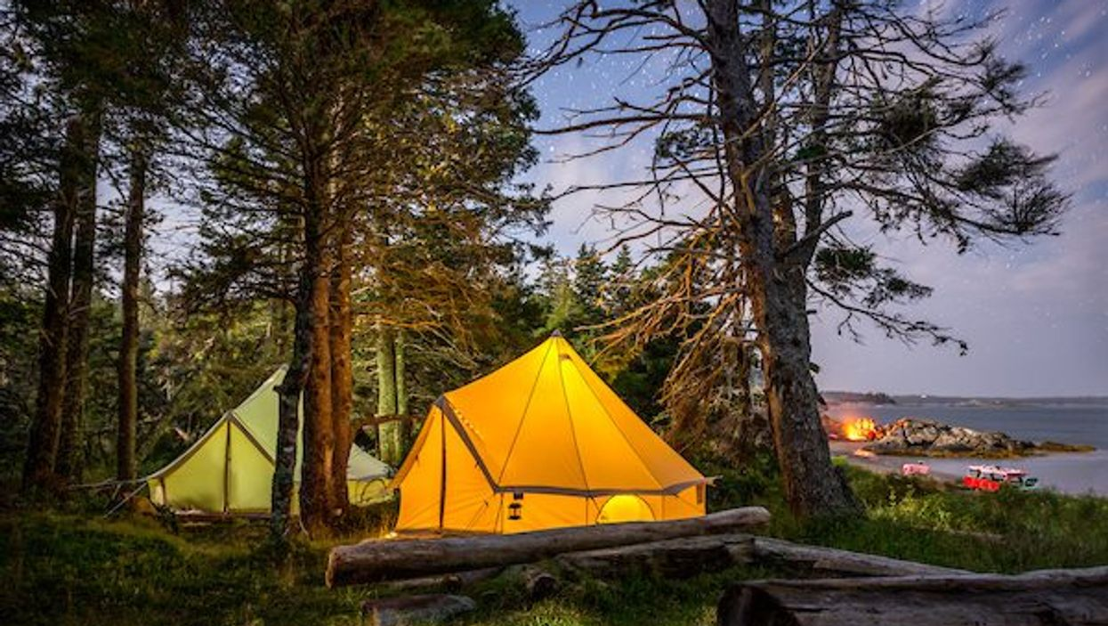You Must Visit This Adorable Glamping Tent Village In Canada This Spring