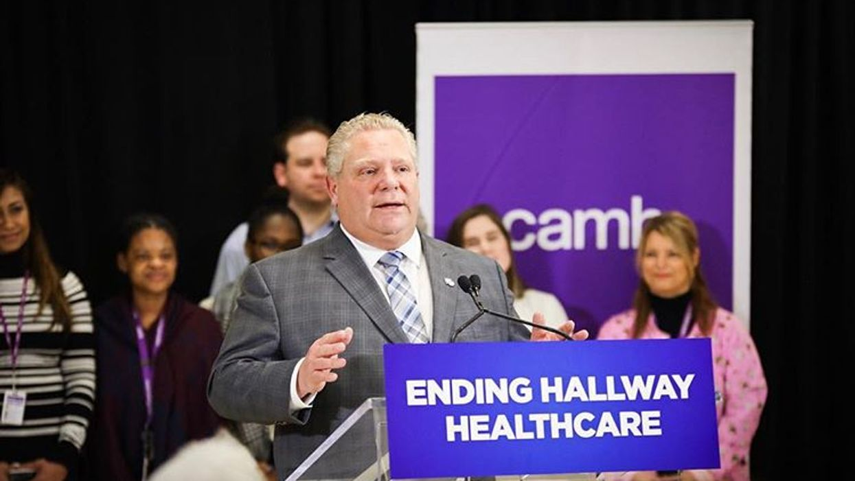 Doug Ford's Government Is Spending $1.5 Billion On A New Contract With Ontario Doctors