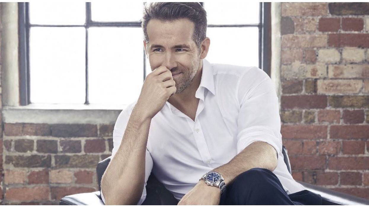 Ryan Reynolds Shares Adorable Baby Photo Of Him Swimming At Local Vancouver Pool In Canada
