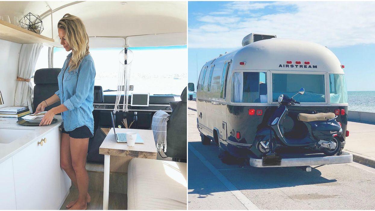 Tu peux louer ce camping van de rêve pour une escapade magique ce printemps