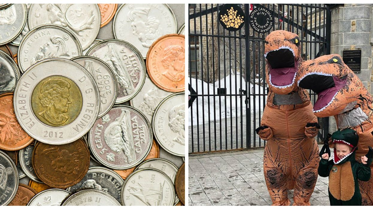 The Canadian Mint Has A Brand New Limited Edition Glow-In-The-Dark Dinosaur Coin