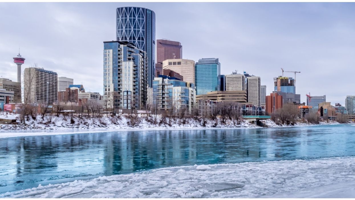 It's So Cold In Calgary That The City Is Warning Residents About Frozen Pipes