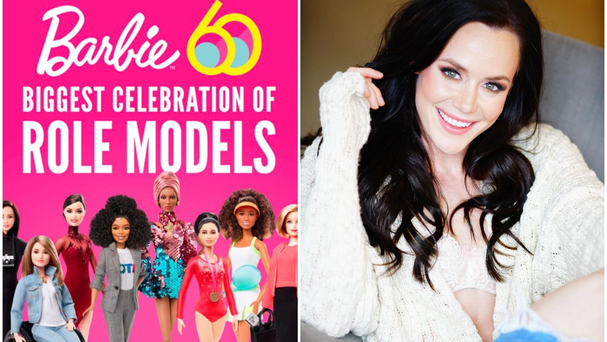 """Barbie Releases New """"Role Model"""" Series Including Canadian Olympic Skater Tessa Virtue"""