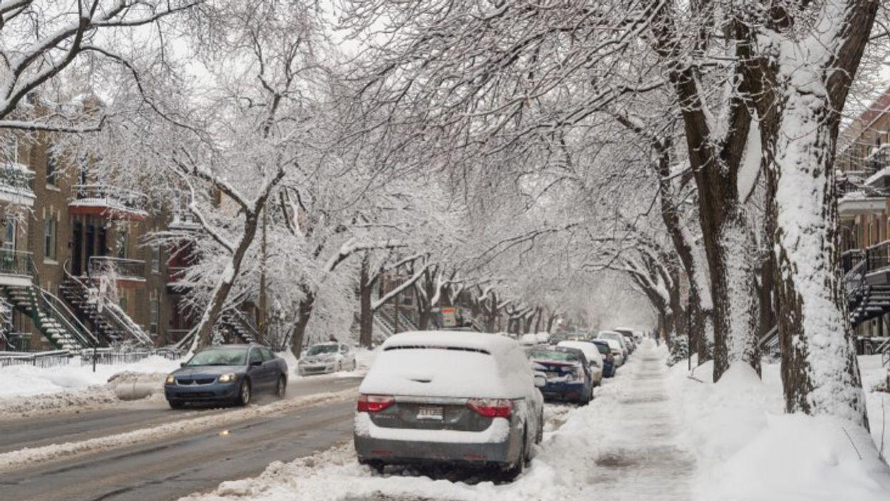 La semaine de relâche va se terminer avec une tempête de 15 cm de neige au Québec