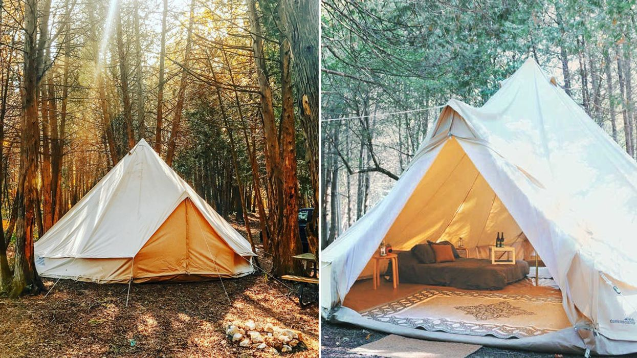 You Can Go Glamping At This Adorable Glamp Site Near Toronto This Spring