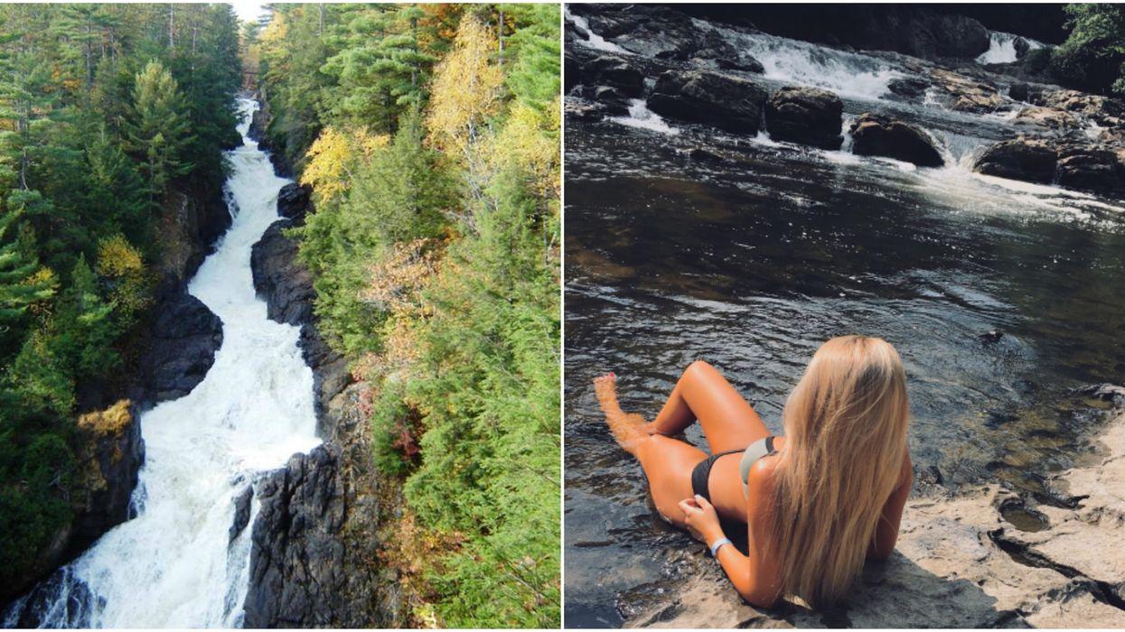 Tu dois absolument aller te baigner au pied de ces magnifiques chutes à 1h30 de Montréal cet été