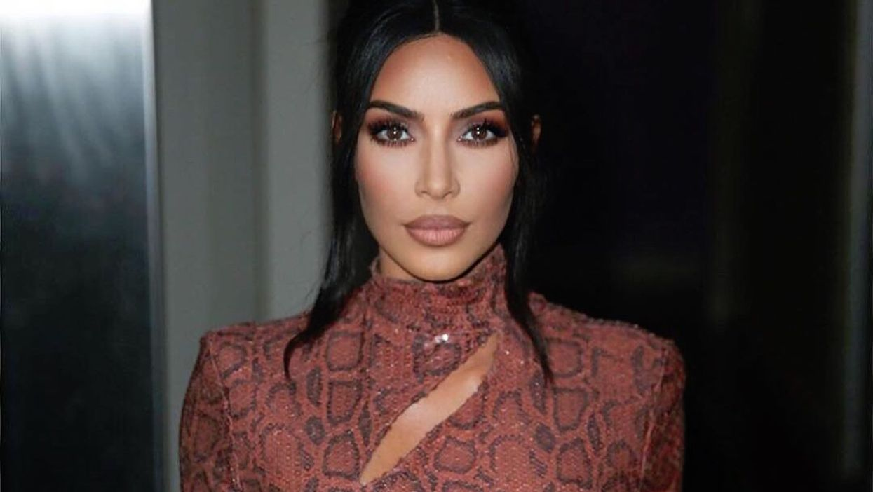 People Are Leaving Savage Comments About Kim Kardashian's Makeup On Her Latest Instagram Post