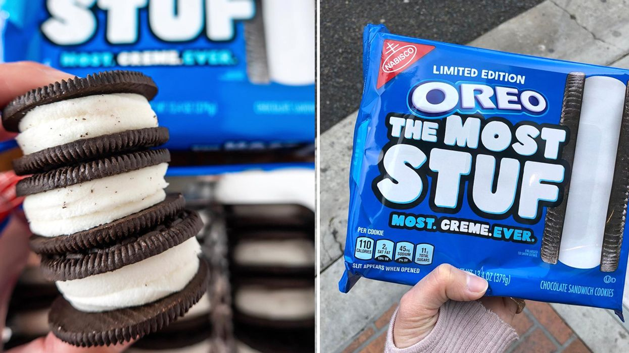 Oreo's The Most Stuf Cookies Just Hit Shelves In Canada And You Gotta Try Them