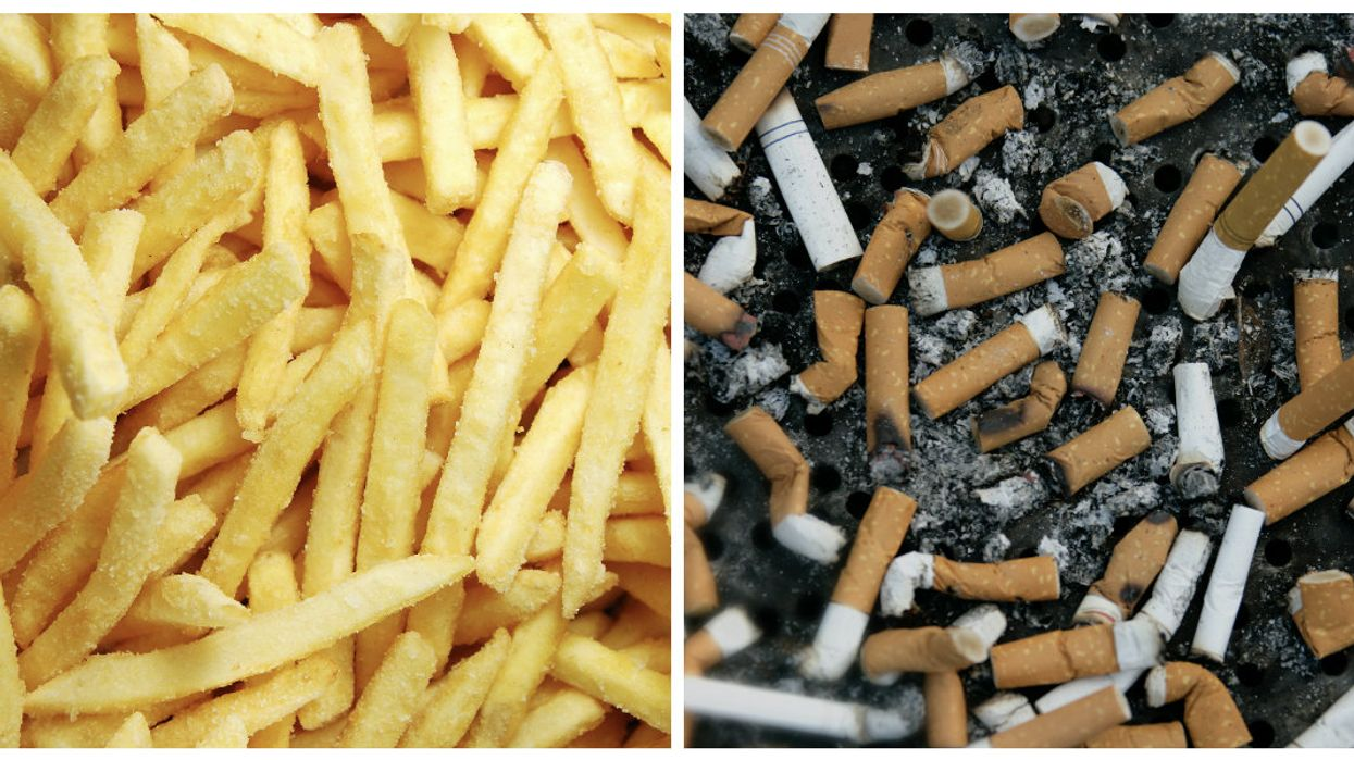 Health Canada Confirms That An Ingredient In Tobacco Is Also Found In Fries And Chips