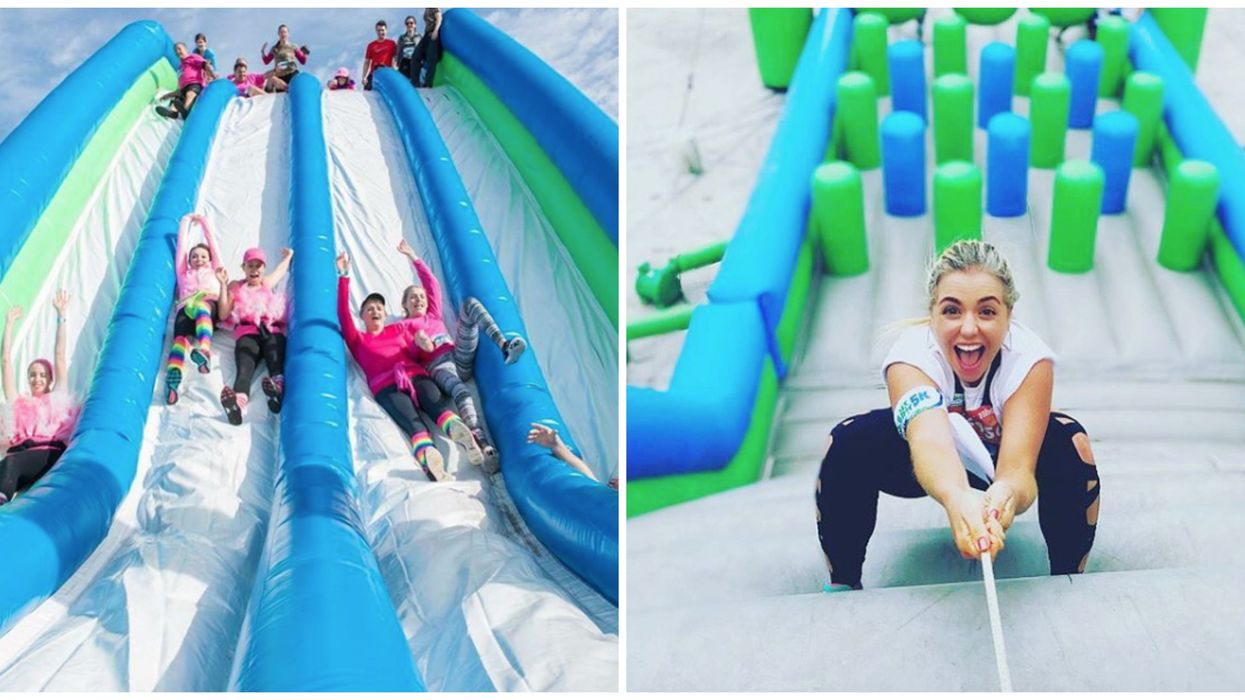 You Can Ninja Your Way Through A 3-Mile Inflatable Obstacle Course In Tampa This Month