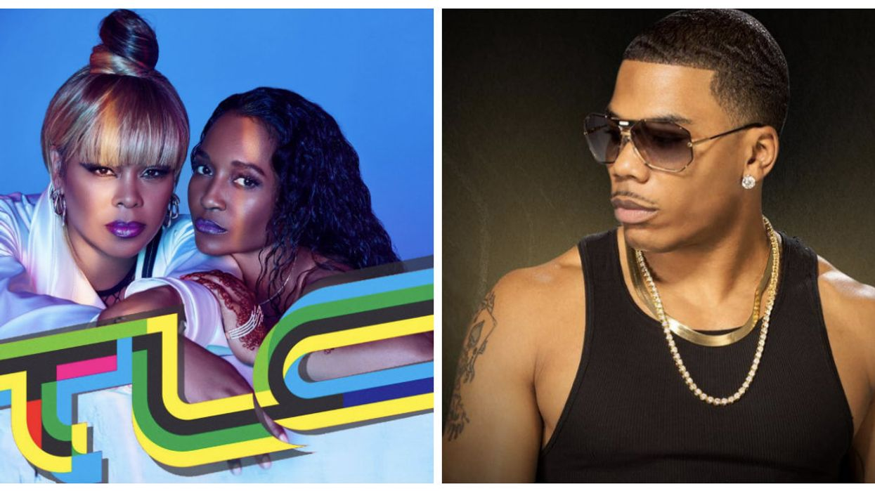 R&B Girl Group TLC And Nelly Are Performing In Toronto This Summer