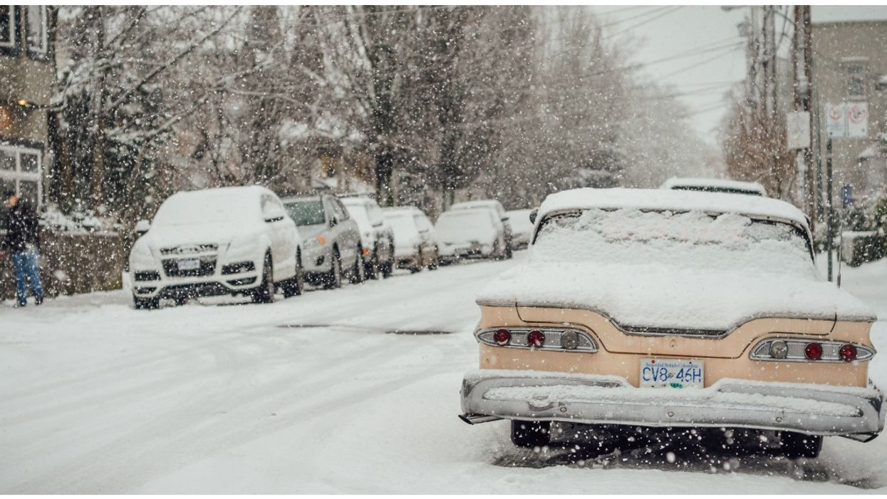 Vancouver Is Expected To Get 15 Cm Of Snow By The End Of Today