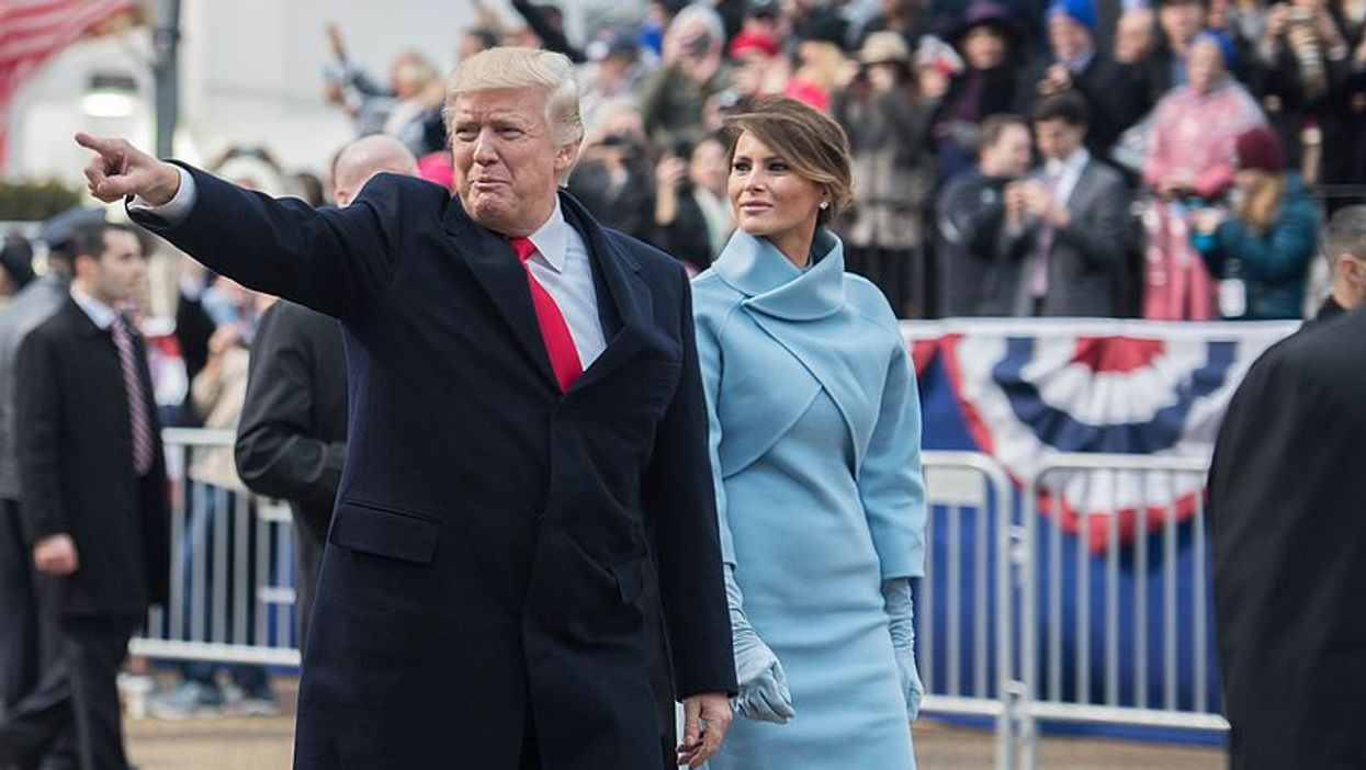 People Actually Think President Donald Trump Is Using A Fake Melania Body Double In These Photos