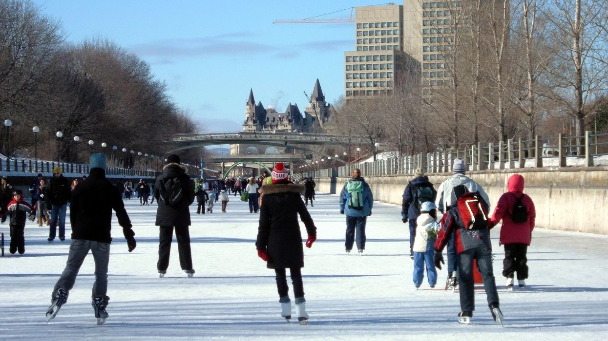 It's The Last Day Of The Season For Canadians To Skate On The World's Longest Skating Rink