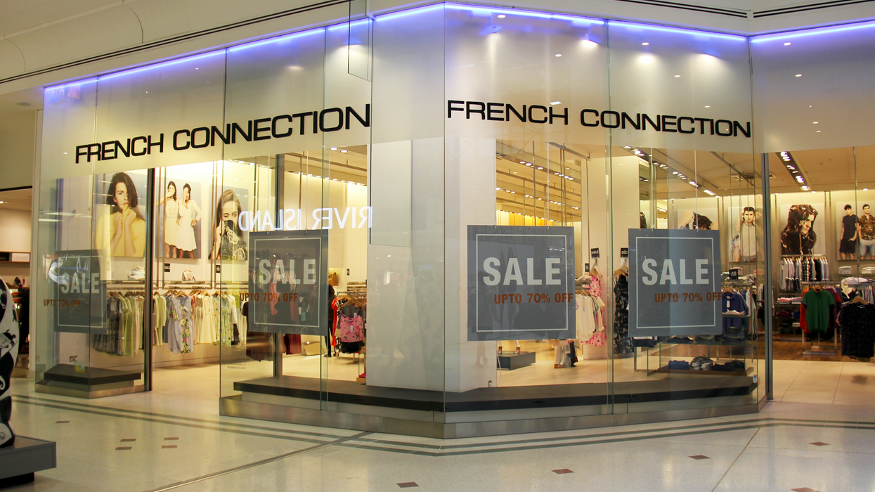 Canada's Last French Connection Store Will Finally Close This Month