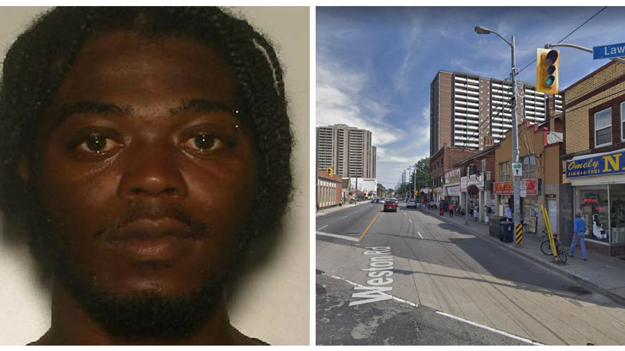 Toronto Man Wanted For Attacking A Female Police Officer This Weekend