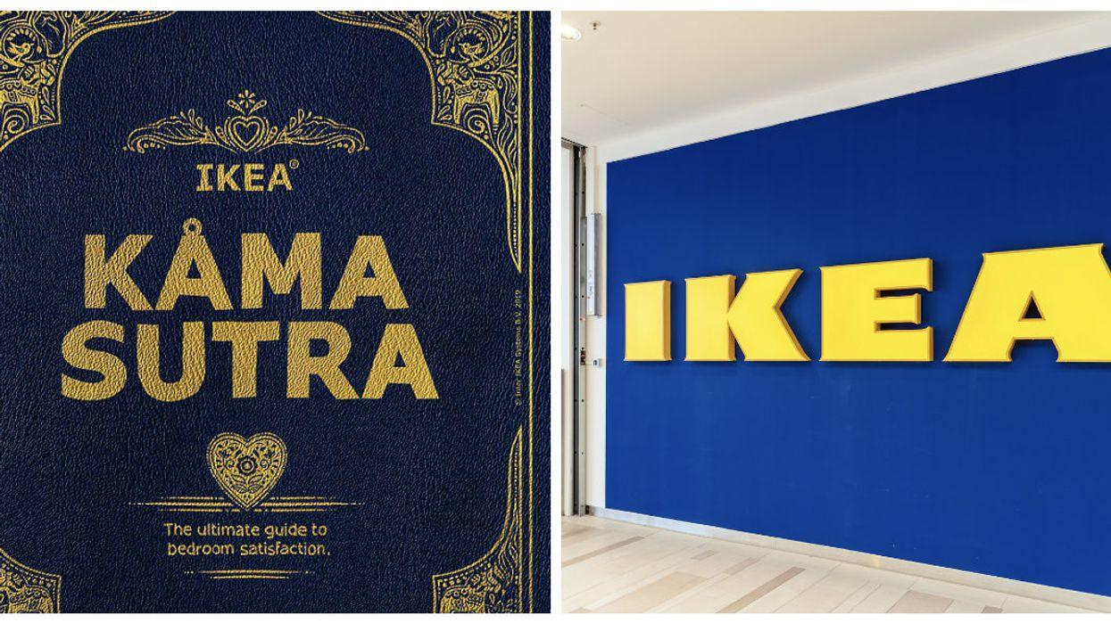 "IKEA Unveils Kama Sutra Book For ""Ultimate Bedroom Satisfaction"""