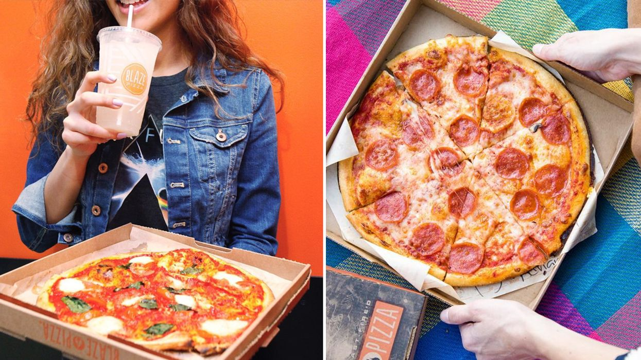 You Can Get A Free Small Pizza This Saturday At This Toronto Restaurant