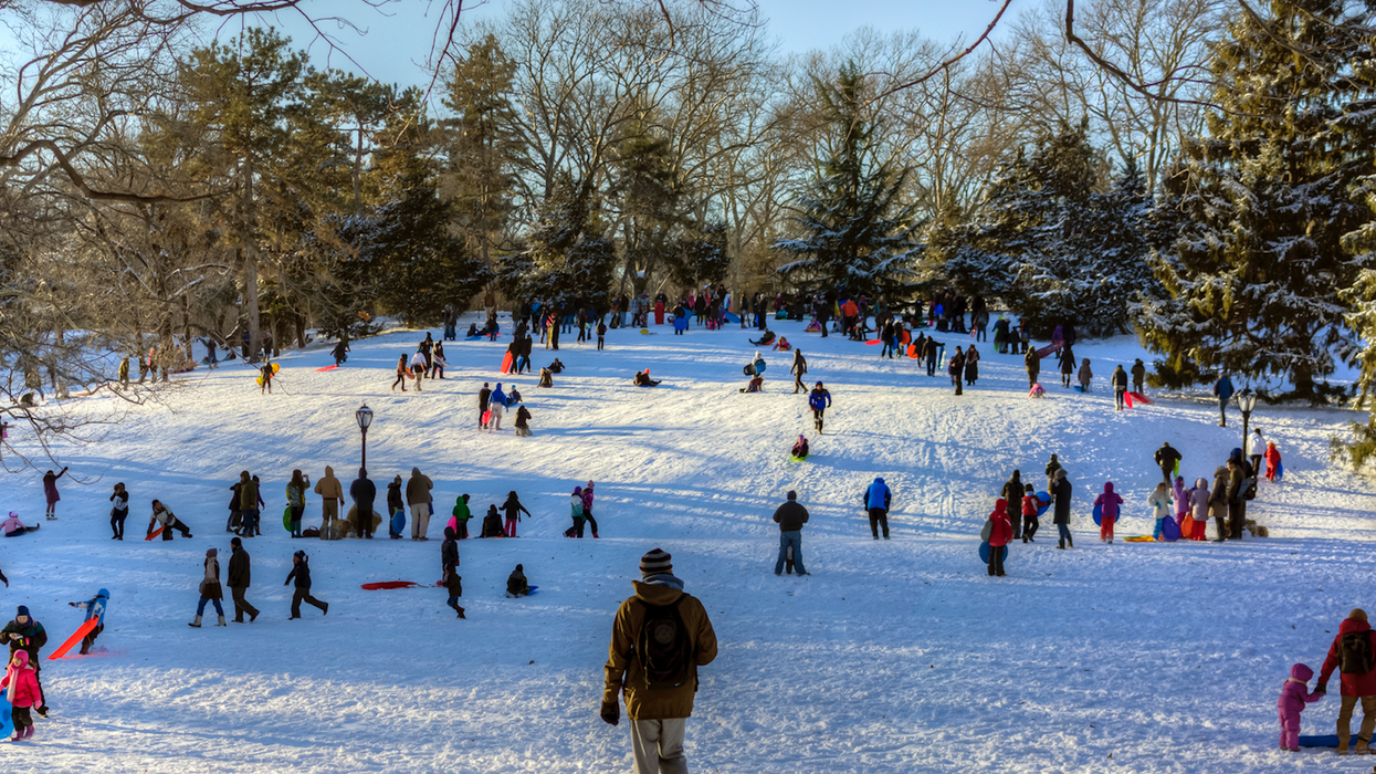 Toronto Parents Warned About Unsafe Tobogganing After A Father Gets Seriously Hurt