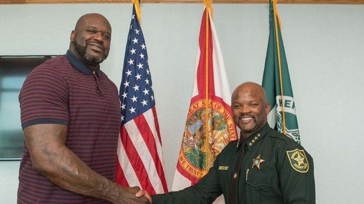 People Are Saying They Feel Safer Now That Shaq Is A Florida Deputy