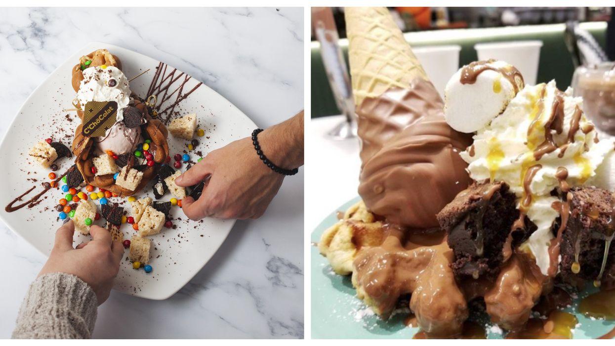 Tu peux t'empiffrer des meilleurs desserts au chocolat de Montréal en participant à cette « tournée » ultra décadente