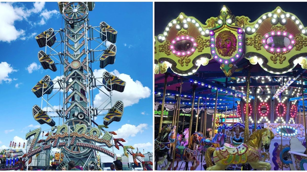 This Epic Travelling Amusement Park Is Coming To Cities Across BC This Spring