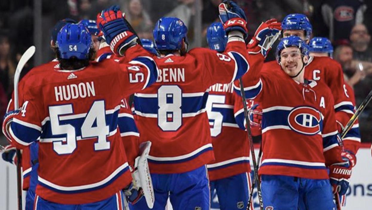 Tu peux aller voir un match des Canadiens de Montréal pour seulement 55$ la semaine prochaine